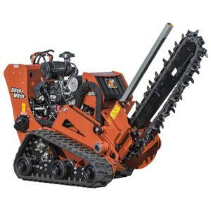 DITCH WITCH WITH TRENCHER AND AHOYADOR
