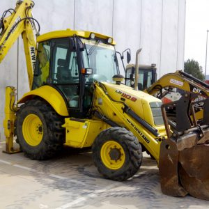 Backhoe loader New Hollad LB 110 B