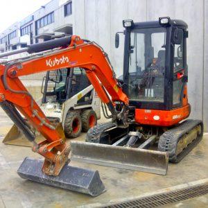 Mini Excavator Kubota U 35-3 @ 3