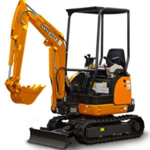 Mini Excavator Kato Imer 17 VXE