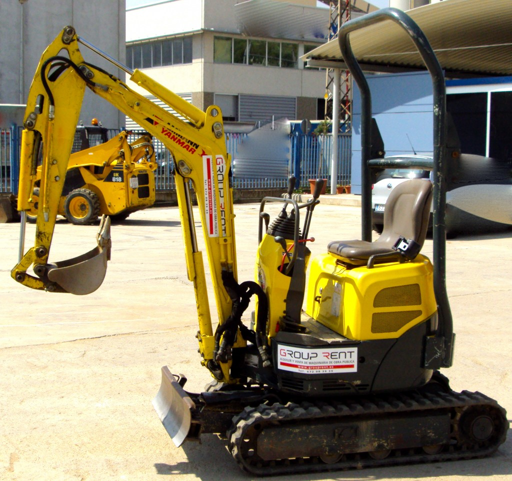 Mini Excavator Yanmar Vio 10 – GroupRent S/L