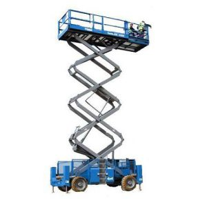 Electric Scissor Platform 10 Meters